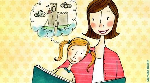 Pesquisas mostram que quanto mais cedo se começa ler maiores são chances de se tornar um leitor assíduo